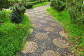 中国の庭のパス — ストック写真