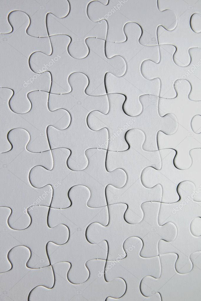 White puzzle — Stock Photo #12193103