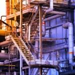 Industrial building, Steel pipelines — Stock Photo #12235764