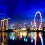Singapore at night — Stock Photo #12235851