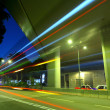 Highway at night in modern city — Stock Photo #12359424