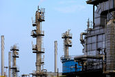 Gas processing plant — Stock Photo