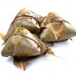 Stock Photo: Steamed rice dumpling