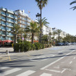 Spain. Lloret de Mar Embankment. — Stock Photo