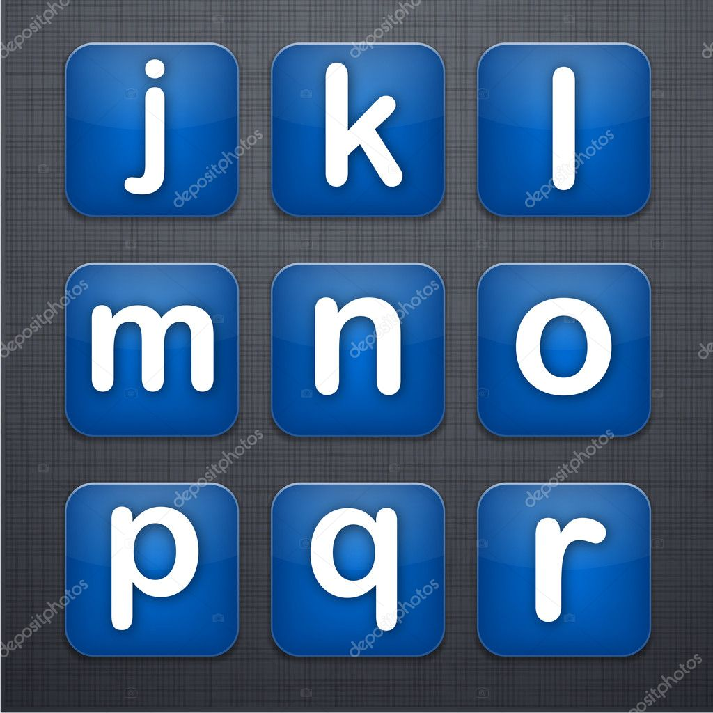 App Icons Letters Letter Apps Icon Set Over