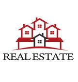 Logotypen bostäder — Stockvektor