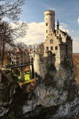 The castle of Sleeping Beauty — Stock Photo