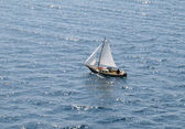 Small sailboat — Stock Photo