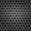 Stock Vector: Perforated background