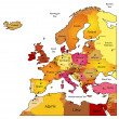 Map of Europe — Wektor stockowy  #11429490