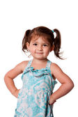 Little miss attitude — Stock Photo