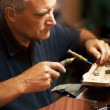 Repairing rings - Photo