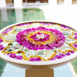 Beautiful floral decoration in a bowl - Stock Photo