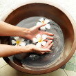 Handcare at the spa - Stock Photo