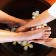 Royalty-Free Stock Photo: Pedicure process