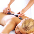 Pampering spa therapy - Stock Photo