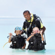 Super scuba fun - Foto de Stock  