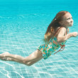 Swimmis happiness - Stock Photo