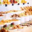 Royalty-Free Stock Photo: Catering buffet food with dessert and fresh fruits