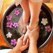 Relaxing pedicure - Photo