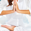 Mastering meditation - Stock Photo