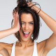 Hair today - Stockfoto