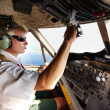 Royalty-Free Stock Photo: This pilots under control