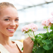 Make your girlfriend feel special this spring - Foto de Stock