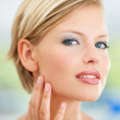 Facial elegance - Stock Photo