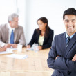Royalty-Free Stock Photo: I like where this meeting is heading