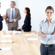 Royalty-Free Stock Photo: I think this meeting went very well