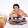 Getting a healthy start to the day - Stock Photo