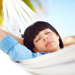 Royalty-Free Stock Photo: Taking life easy