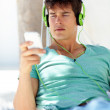 Easy listening - Stock Photo