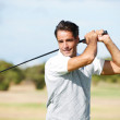 Royalty-Free Stock Photo: Golf is all about confidence