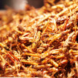 Fried grasshopper for sale - Foto Stock