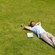 Taking life easy - Stockfoto