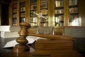 Judge's gavel — Stock Photo