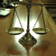Foto Stock: Decorative Scales of Justice