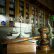 Judge's gavel — Stock Photo #11818368