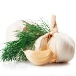Garlics — Stock Photo