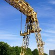 Stock Photo: Industrial crane