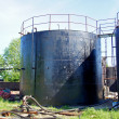 Tank for black oil — Stock Photo #11091823