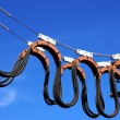 Electric wires — Stock Photo
