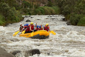 Rafting boat adventure — Stock Photo