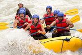 Rafting adventure — Stock Photo