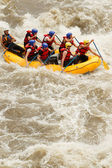 Rafting boat — Stock Photo