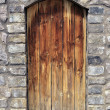 Wooden door - Lizenzfreies Foto