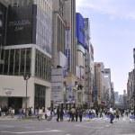 Pedestrian Ginza — Stock Photo #12199325