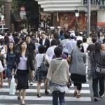 Crowded Ginza — Stock Photo #12199343